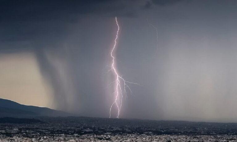 Καιρός (23/1): Βροχές, καταιγίδες και χιονοπτώσεις σε πολλές περιοχές (vid)