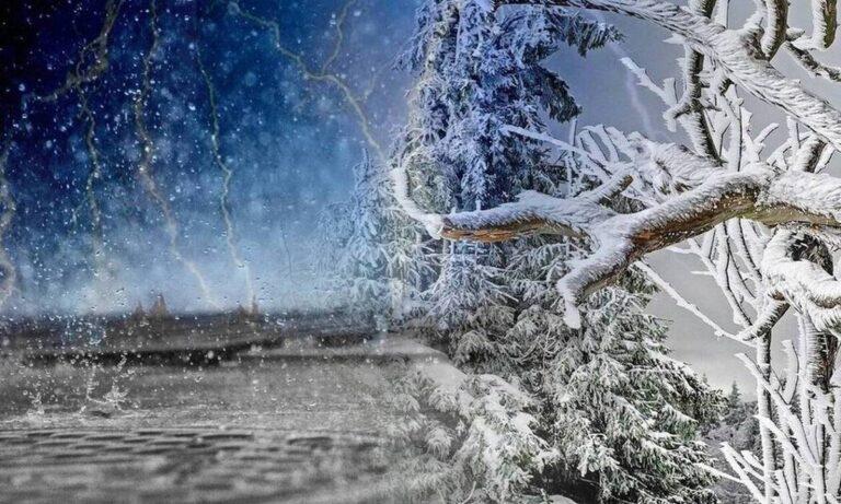 «Λέανδρος»: Σε ολικό παγετό η Βόρεια Ελλάδα!