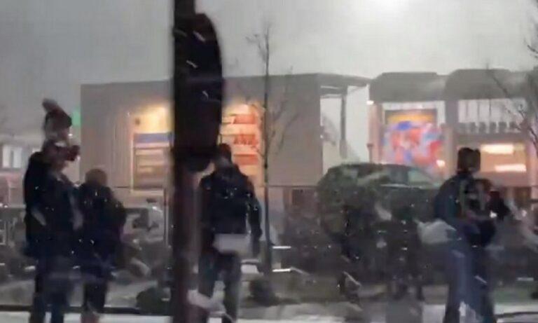 «Μεθυσμένη» πολιτεία το Κίελο: Γιόρτασαν στον χιονιά τον αποκλεισμό της Μπάγερν (vid)
