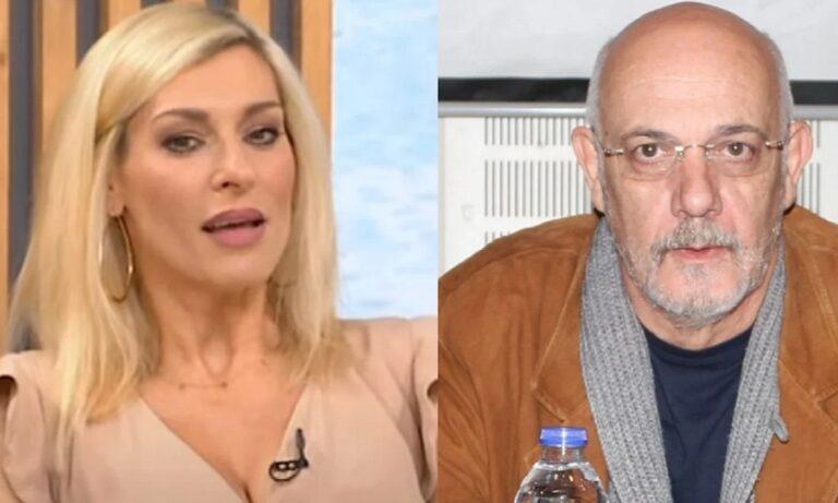 Γιώργος Κιμούλης: Η πρώτη αντίδραση μετά τις καταγγελίες που έκανε η Ζέτα Δούκα