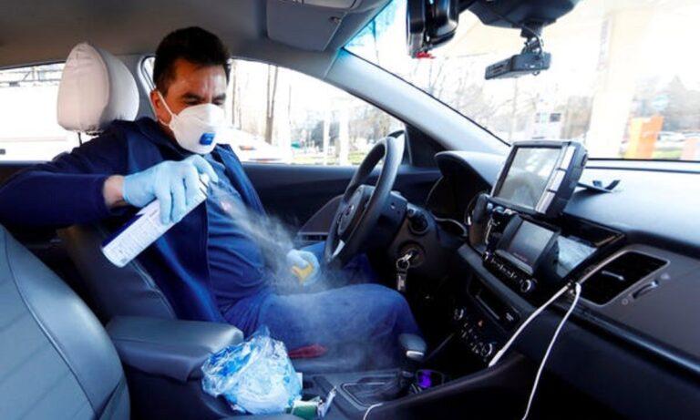 Μάσκα στο αυτοκίνητο με SMS: Πότε «πέφτει» το 300άρι, πόσοι επιβάτες επιτρέπονται