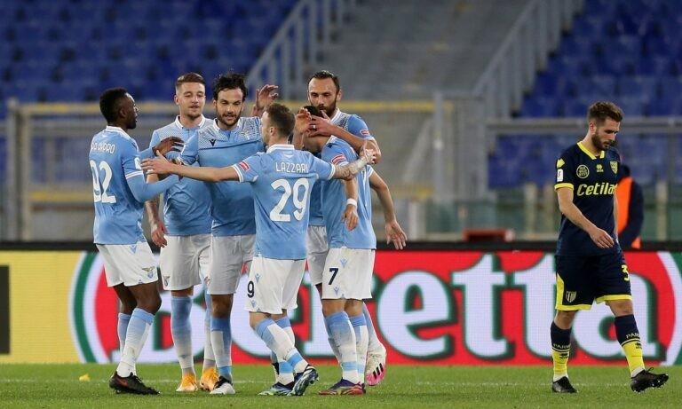 Λάτσιο – Πάρμα 2-1: Στα προημιτελικά του κυπέλλου οι λατσιάλι με αυτογκόλ στο 90′!