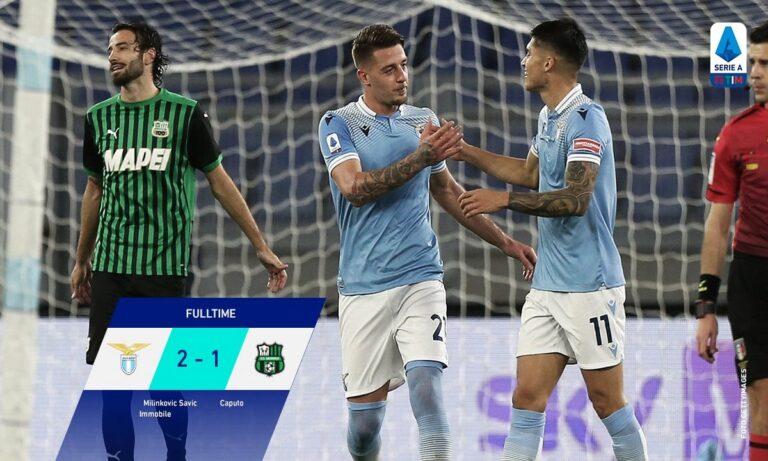 Λάτσιο – Σασουόλο 2-1: Έχει πάρει φόρα! (vid)