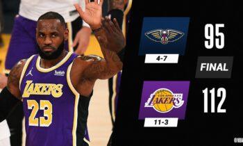 NBA Αποτελέσματα: «Περίπατος» για Λέικερς και Κλίπερς (vids)
