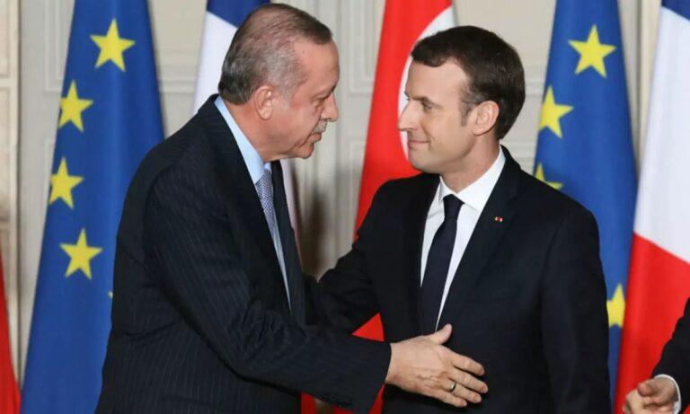 Απαντά ο Μακρόν στον Ερντογάν: «Αγαπητέ Ταγίπ, ας μιλήσουμε…»