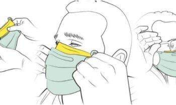 Κορονοϊός: Αυτό είναι το κόλπο για να μην θολώνουν τα γυαλιά σας με τη μάσκα