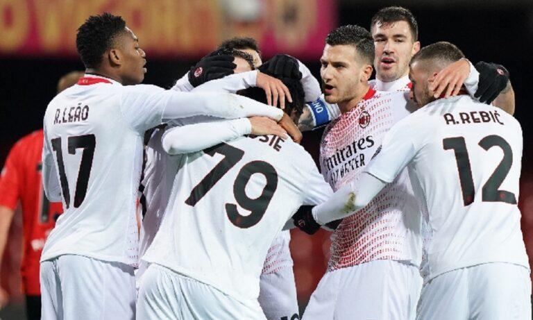Μπενεβέντο – Μίλαν 0-2: Δεν τη ρίχνει τίποτα από την κορυφή!