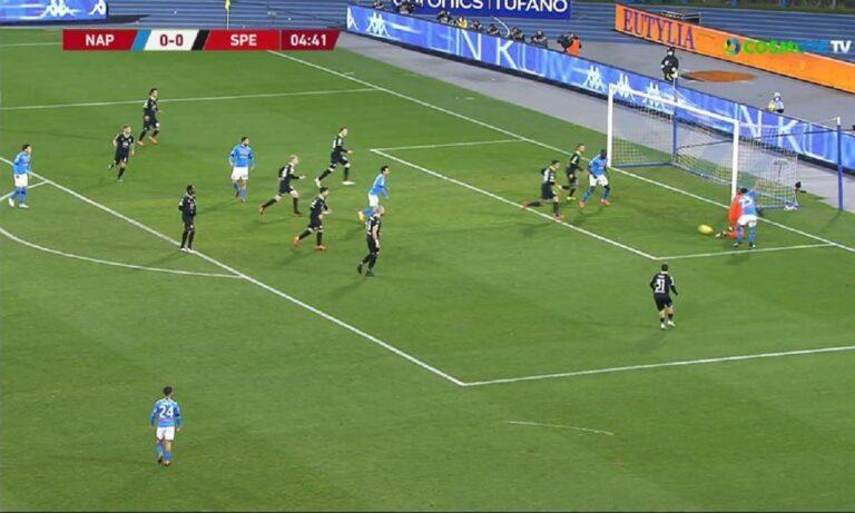 Νάπολι – Σπέτσια 4-2: Στα ημιτελικά του κυπέλλου Ιταλίας οι «παρτενοπέι» – Αντίπαλος η Αταλάντα