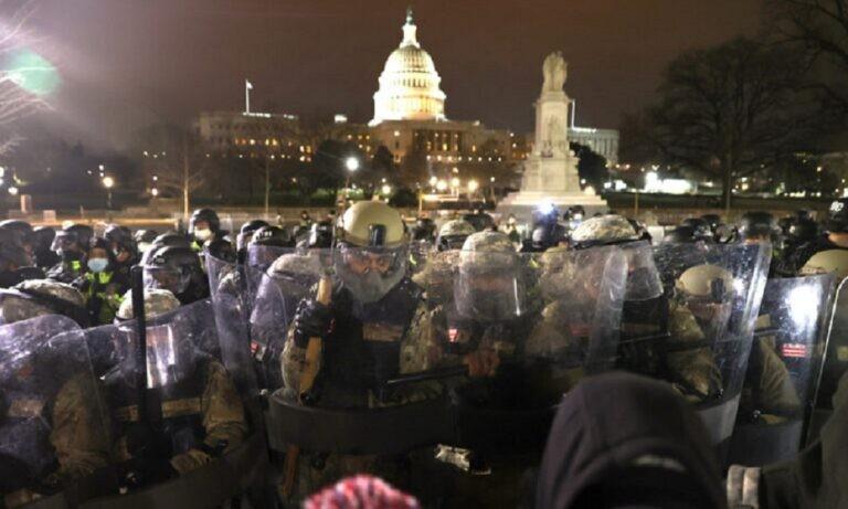 Εισβολή στο Καπιτώλιο: 1.100 εθνοφρουροί κινητοποιήθηκαν στα γεγονότα της Ουάσινγκτον! (vid)