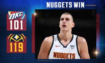 NBA Αποτελέσματα: Εύκολο βράδυ για Νάγκετς και Τζαζ (vids)