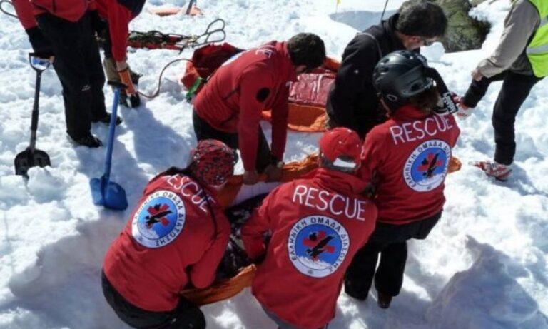 Όλυμπος: Νεκροί δύο ορειβάτες που καταπλακώθηκαν από χιονοστιβάδα