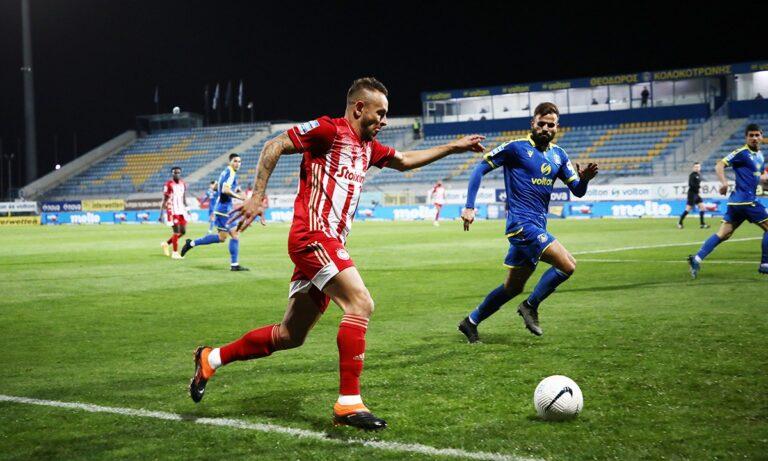 Αστέρας Τρίπολης – Ολυμπιακός 0-4 (Τελικό)