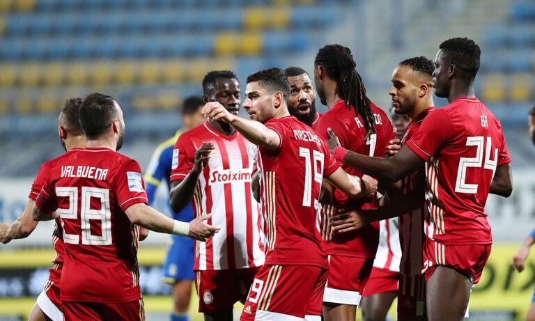 Αστέρας Τρίπολης – Ολυμπιακός 0-4: Τον «εκτέλεσε» με τα στημένα