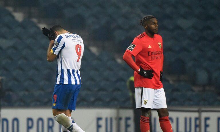 Πόρτο - Μπενφίκα 1-1: Ισοπαλία με κερδισμένη τη Σπόρτινγκ!