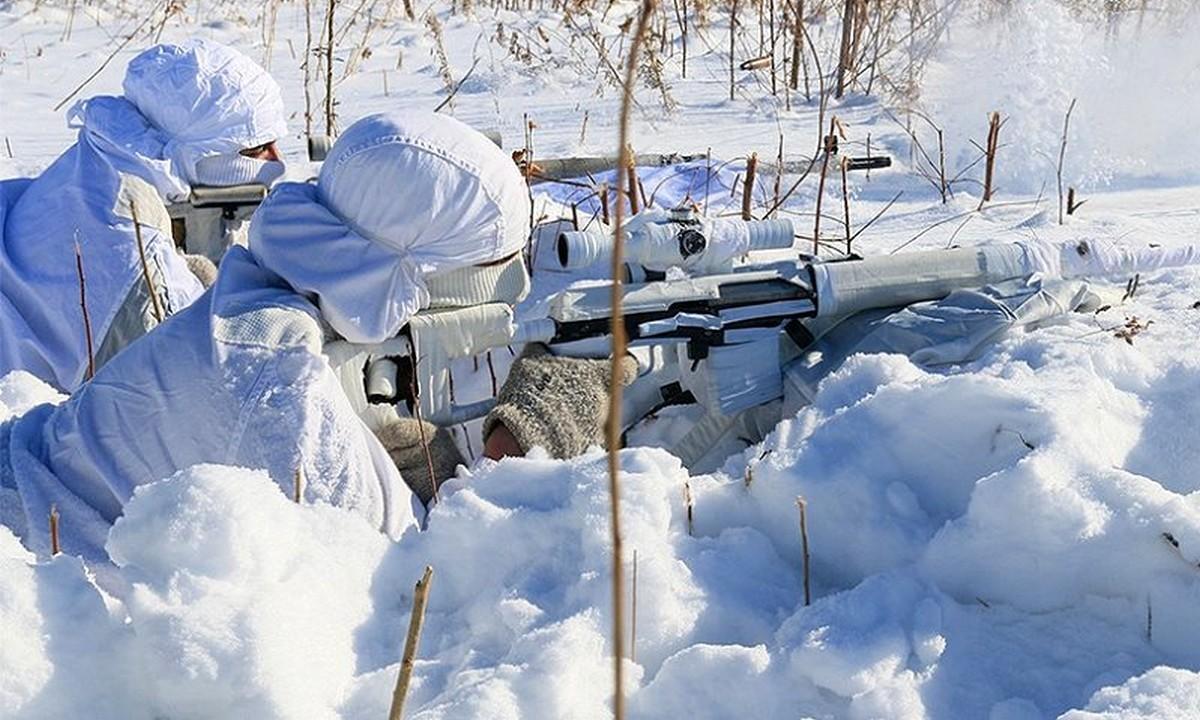 Ρωσία: Κομάντος εκπαιδεύονται στους -35 βαθμούς Κελσίου!