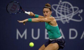 Σάκκαρη: Νίκη στην πρεμιέρα της στο Abu Dhabi Open