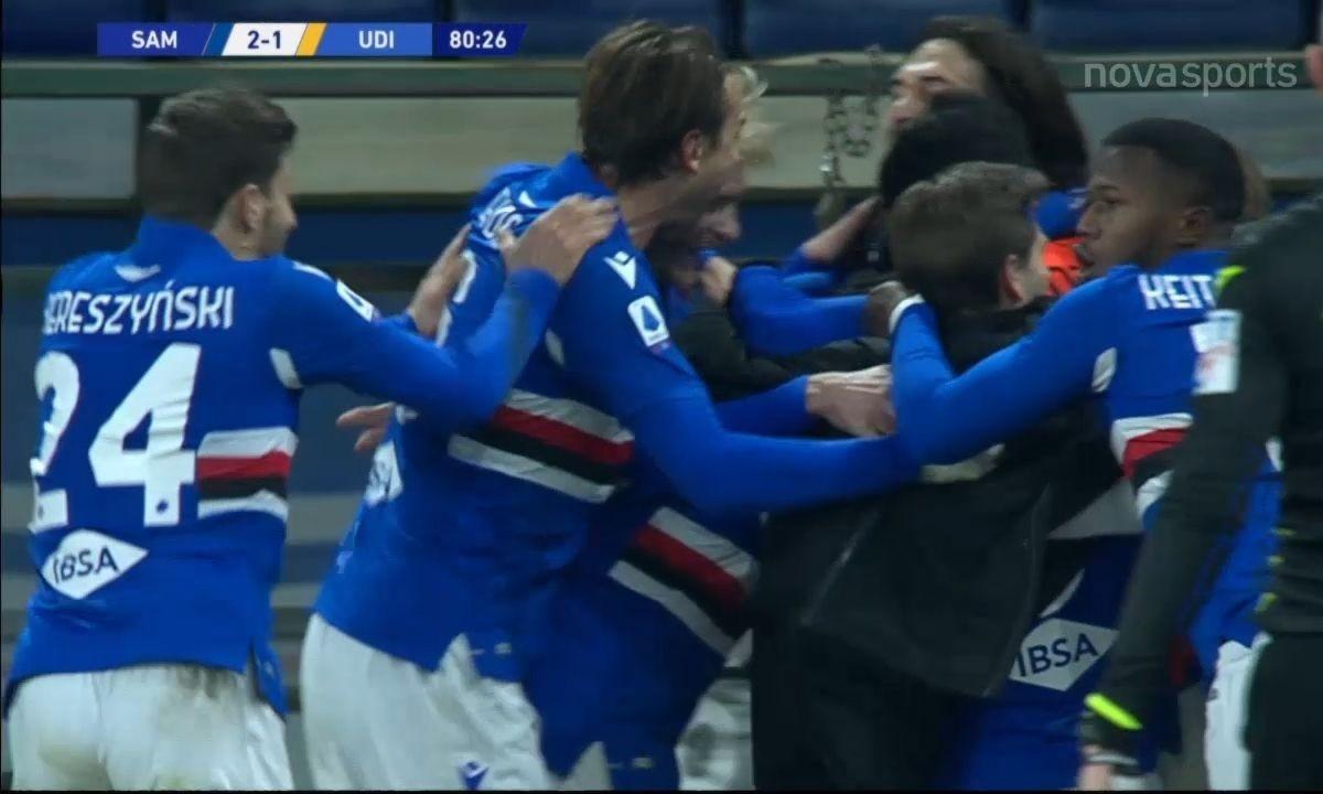 Serie A: Με ανατροπή η Σαμπντόρια, γκέλαρε η Τορίνο (vids)