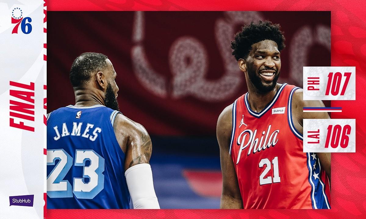 NBA Αποτελέσματα: Ήρωας ο Χάρις για τους Σίξερς, νίκη στην παράταση για τους Νετς (vids)