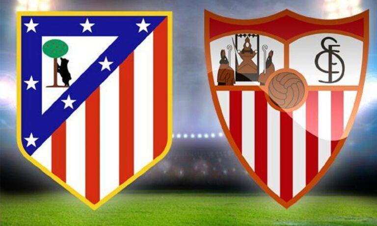 Ατλέτικο Μαδρίτης – Σεβίλλη 2-0 (TΕΛΙΚΟ)