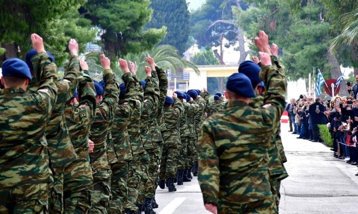Στρατιωτική θητεία: 12 μήνες από τον Μάιο παντού – Ποιοι θα κάνουν 9μηνο