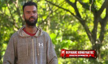 Survivor: Συνεχίζει τις βαριές κουβέντες ο Περικλής - «Είναι πολύ βλάκας, αχώνευτος ο Κοψιδάς» (vid)