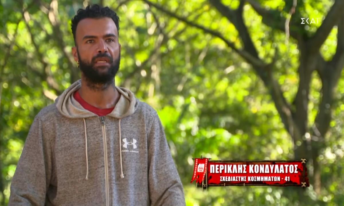 Survivor: Συνεχίζει τις βαριές κουβέντες ο Περικλής – «Είναι πολύ βλάκας, αχώνευτος ο Κοψιδάς» (vid)