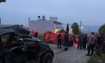 Κρήτη: Τροχαίο δυστύχημα για 37χρονη μαζί με την δίχρονη κόρη της