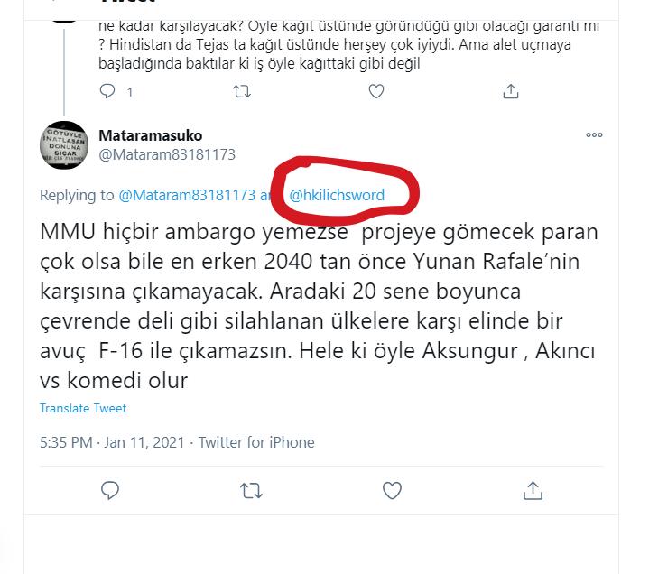 Τούρκοι: Χάνουν σιγά σιγά τις ελπίδες τους οι χρήστες του διαδικτύου στην Τουρκία, αναφορικά με τις πιθανότητες που έχουν να αντιμετωπίσουν επαρκώς τα ελληνικά Rafale.