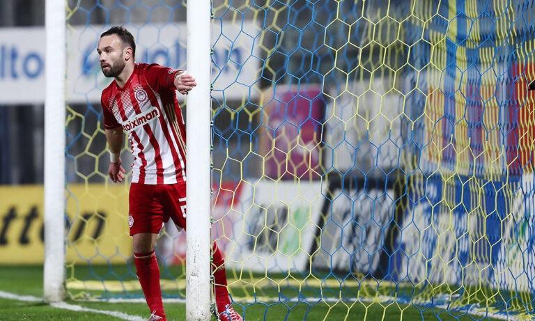 Αστέρας Τρίπολης – Ολυμπιακός: Σε 5′ δύο γκολ με ασίστ Βαλμπουενά (vids)