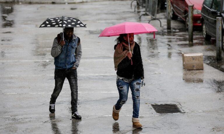 Καιρός 14/1: Βροχές με μπόλικο κρύο και πτώση της θερμοκρασίας!