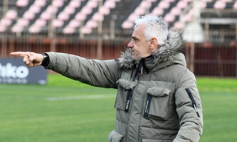 Χαραλαμπίδης: «Βάσει ευκαιριών, το ματς ήταν δικό μας»