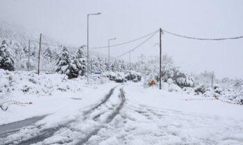 Καιρός 15/1: Πτώση της θερμοκρασίας και χιόνια