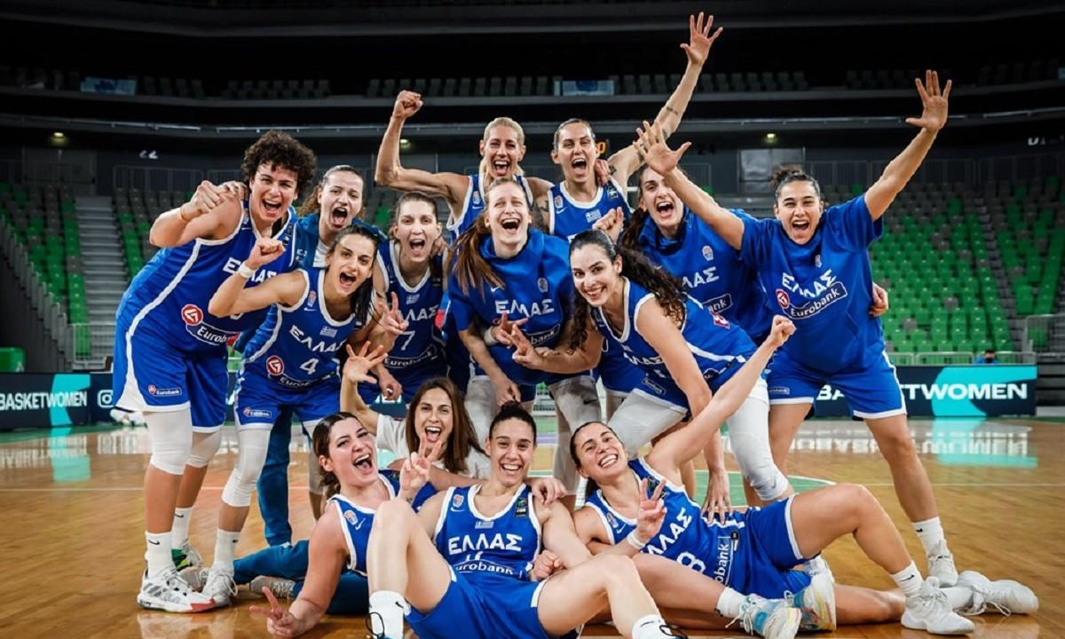Εθνική Γυναικών- FIBA- Ευρωμπάσκετ Γυναικών