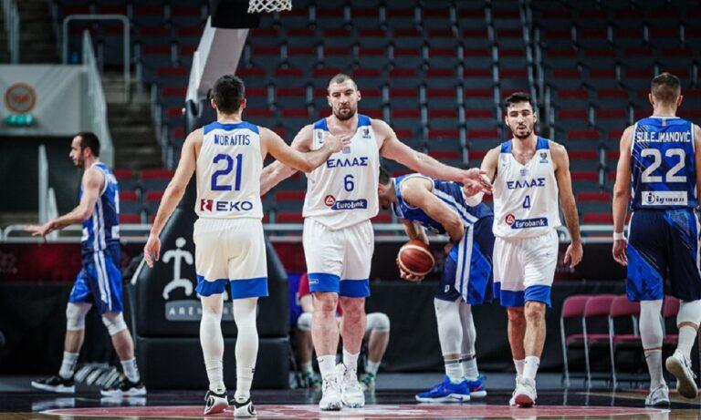 Τον τελευταίο της αγώνα για τα προκριματικά του Eurobasket 2022 δίνει η Εθνική ομάδα που αντιμετωπίζει στη «φούσκα» της Ρίγα την διοργανώτρια Λετονία.