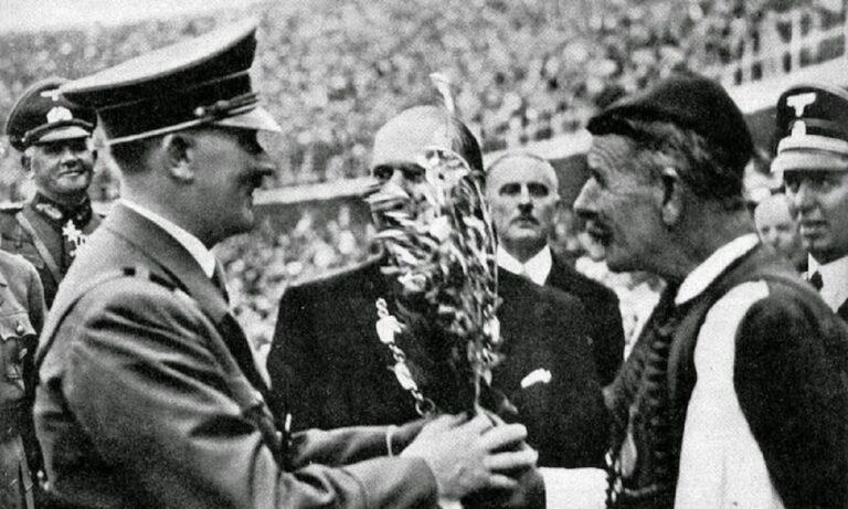 Όταν ο Σπύρος Λούης φιλοξενήθηκε από τον Χίτλερ