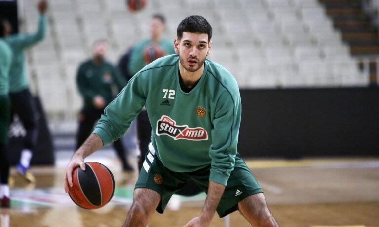Παναθηναϊκός: Παίζει και στην Basket League o Μαντζούκας
