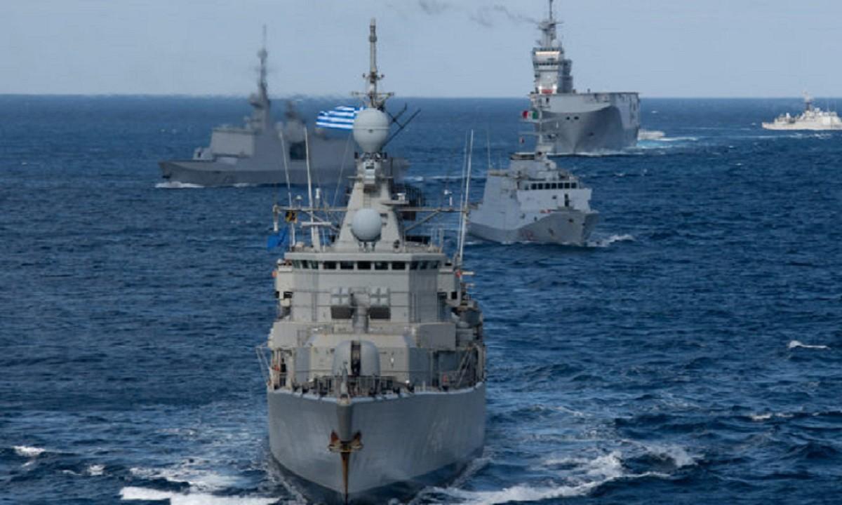Ελληνοτουρκικά: Στην ομάδα συνοδείας και μάχης του Charles de Gaulle η φρεγάτα Κανάρης (pics)