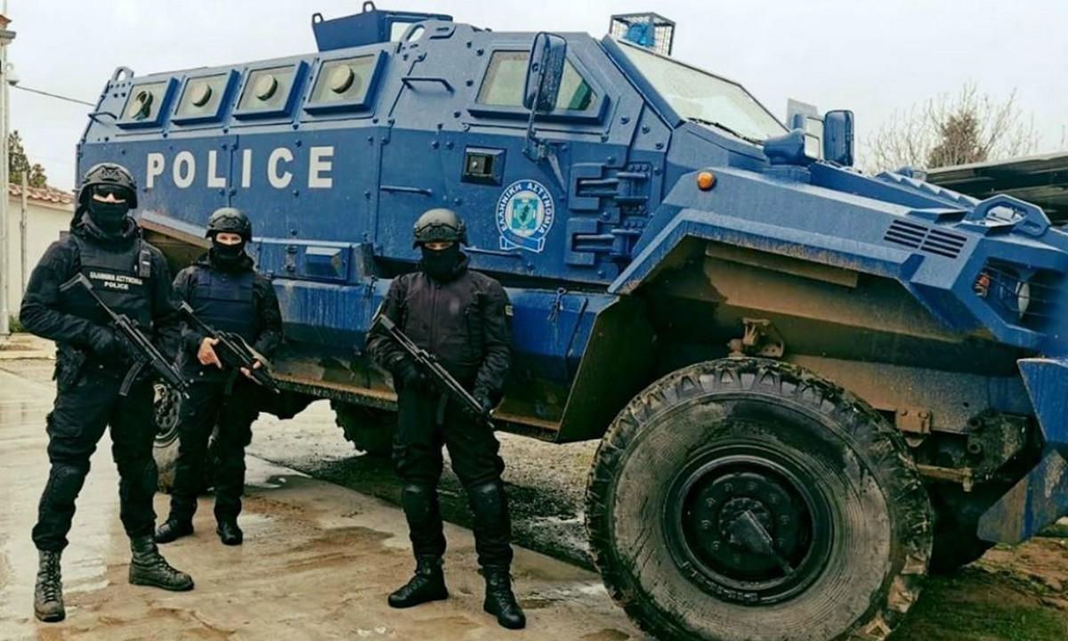 Αστυνομία: «Τυφώνας» ονομάζεται το νέο θωρακισμένο όχημα της ΕΛ.ΑΣπου θα θωρακίσει την χώρα μας στον Έβρο και δεν... μασάει
