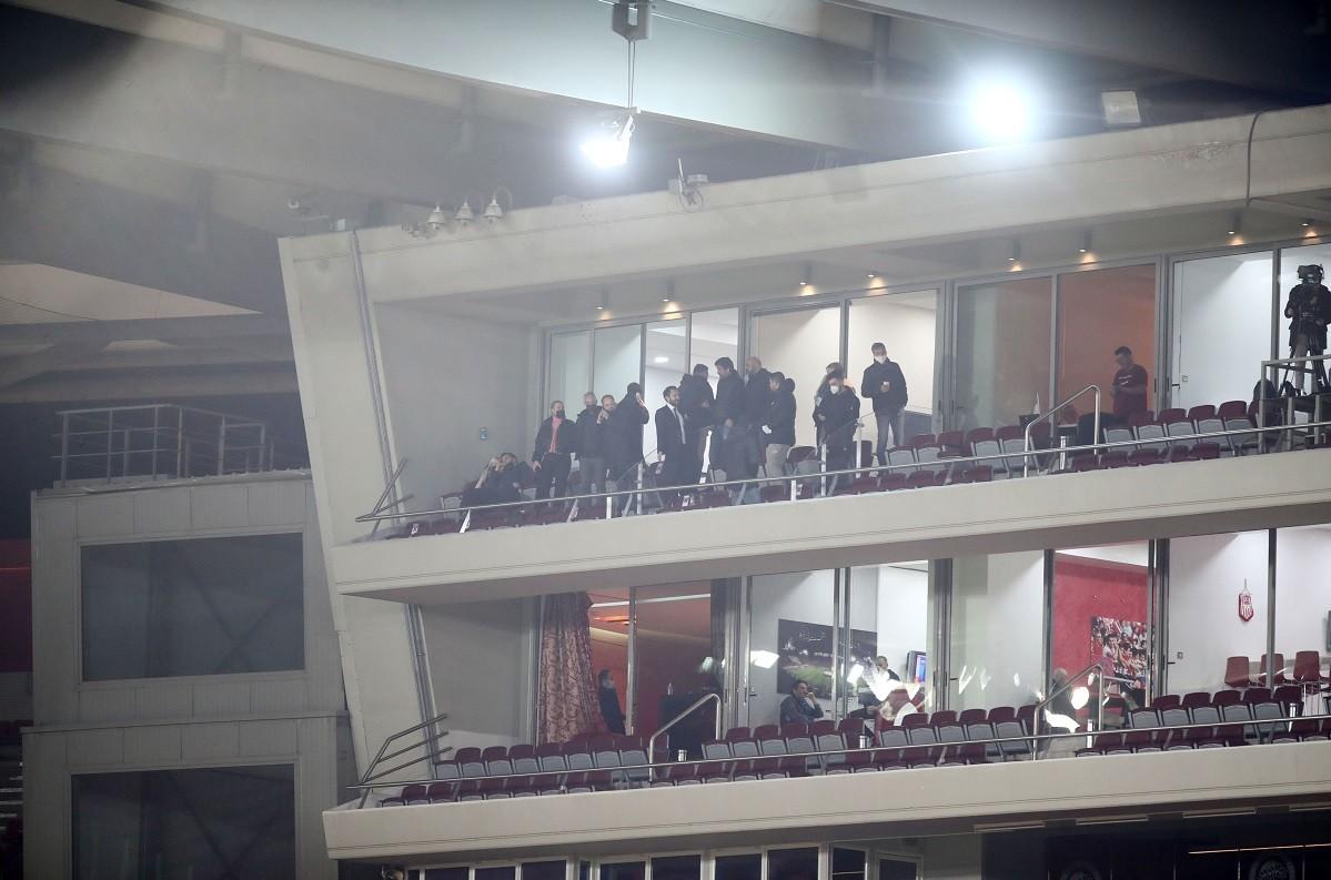 Ολυμπιακός-Άρης: Το ντέρμπι της 22ης αγωνιστικής της Super League, παρακολουθεί από το γήπεδο ο Θόδωρος Καρυπίδης.