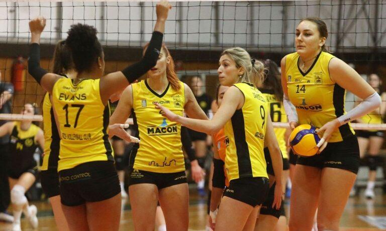 Άρης-Ηλυσιακός 3-0 σετ: Τέταρτη νίκη για τις «κιτρινόμαυρες»