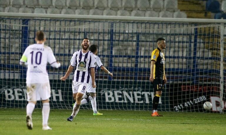 Απόλλων Σμύρνης-ΑΕΚ: Τα γκολ των Ντάουντα, Ολιβέιρα και Λαγού (vid)