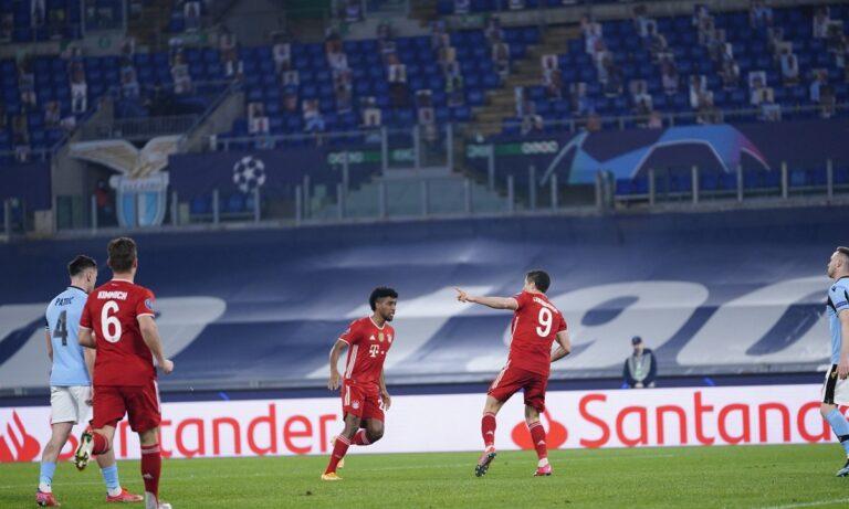 Τη στιγμή που φάνταζε ευάλωτη, ακριβώς τότε η Μπάγερν Μονάχου διέλυσε τη Λάτσιο και έδειξε ότι παραμένει η Νο1 ποδοσφαιρική δύναμη εκεί έξω.