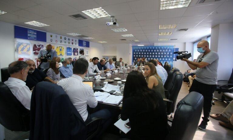 Διοικητικό συμβούλιο Super League 1: Στόχος η κεντρική διαχείριση
