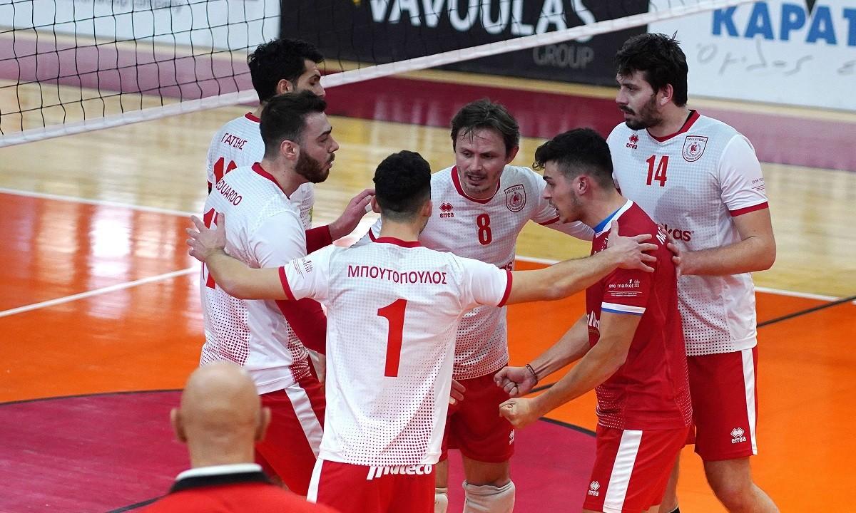 Volley League: Αναβλήθηκε το Φίλιππος Βέροιας – Ολυμπιακός