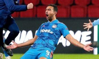 Ο Ολυμπιακός προκρίθηκε στους «16» του Europa League, με τον Χασάν να γνωρίζει την αποθέωση, ενώ φέτος έβαλε δύο ευρωπαϊκά γκολ αξίας 4,3 εκατ. ευρώ.