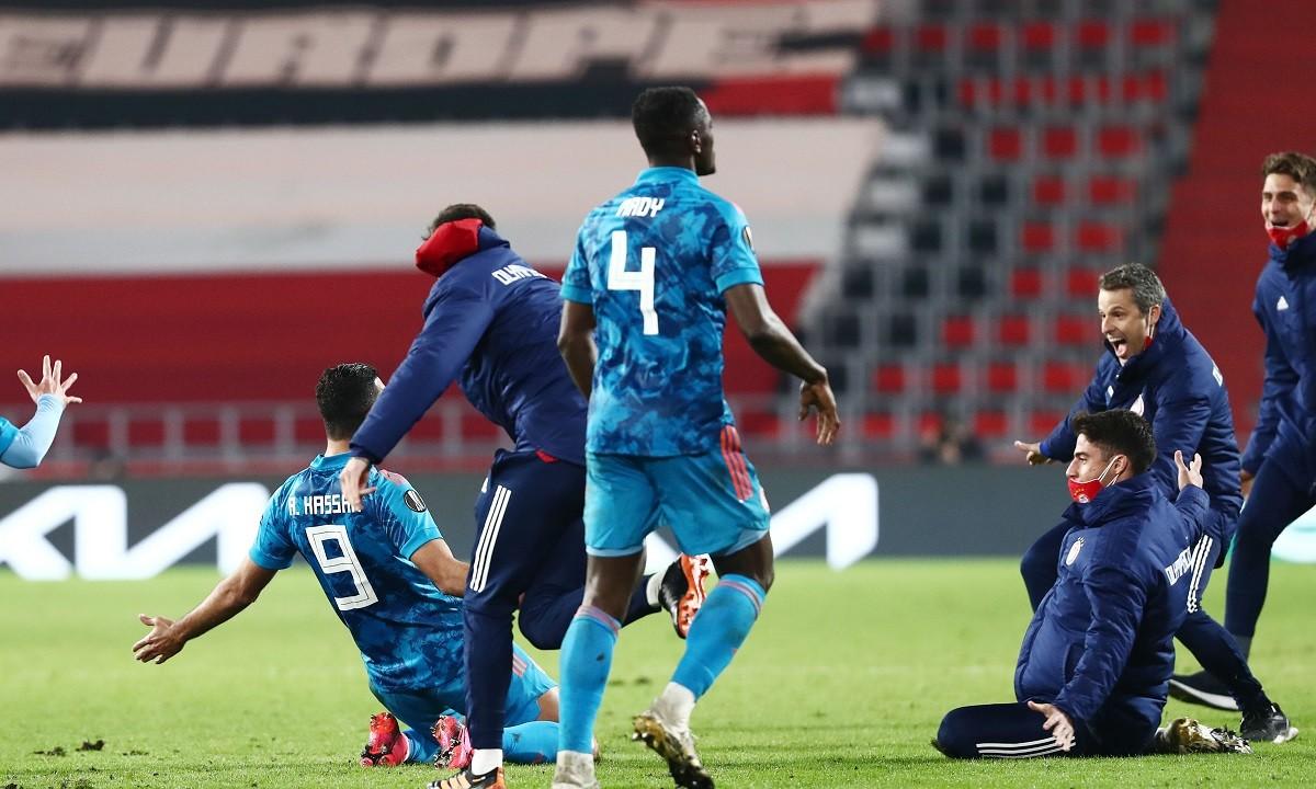 Αϊντχόφεν – Ολυμπιακός 2-1: Έτσι ήρθε η «ιπτάμενη» πρόκριση (video)