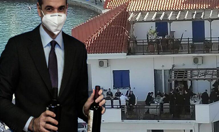 Κυριάκος Μητσοτάκης: Τα μπαλκόνια της Ικαρίας και τα… αλώνια του πόπολου