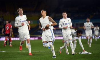 Λιντς - Σαουθάμπτον 3-0: Υπόθεση ενός ημιχρόνου