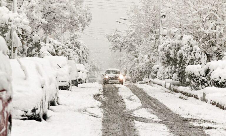 Κακοκαιρία Μήδεια: Που σημειώθηκαν οι χαμηλότερες θερμοκρασίες