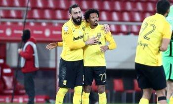 Έγιναν γνωστές οι 11άδες της αναμέτρησης Άρης-Ατρόμητος για την 24η αγωνιστική της Super League, που θα διεξαχθεί στο Βικελίδης.